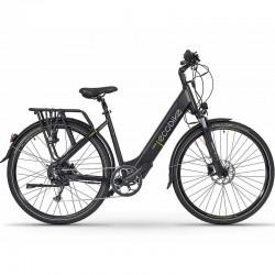 """X-Cross Black 19"""" - trekkingowy rower elektryczny - Ecobike - Torun"""