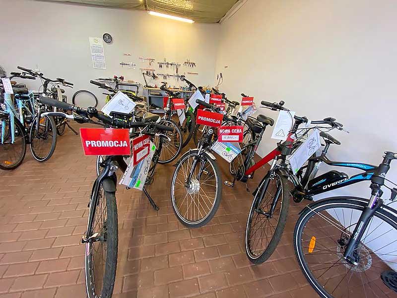 Rowery elektryczne - Toruń