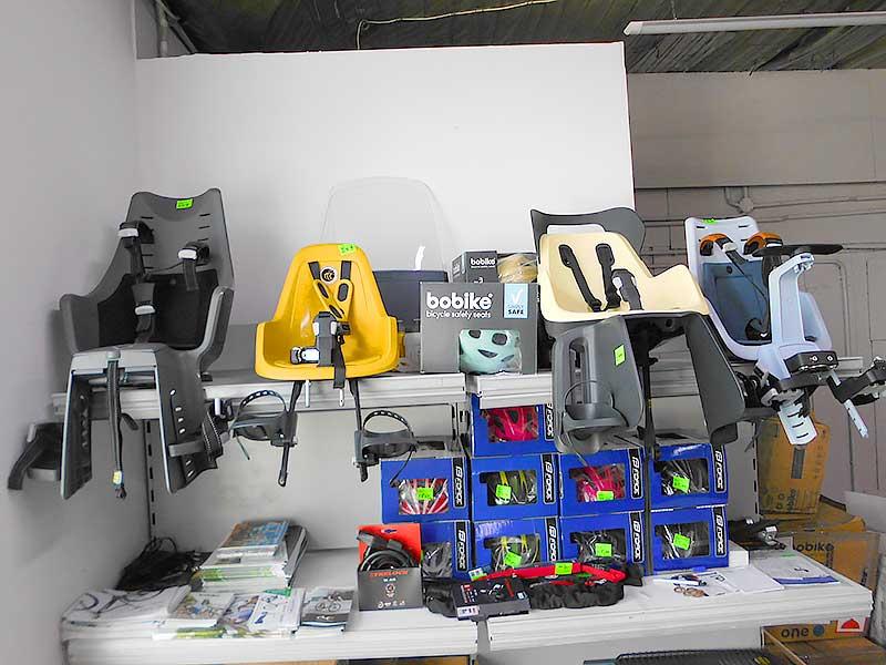Foteliki, kaski i wózki rowerowe dla dzieci. Toruń