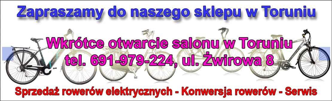 Rowery elektryczne Toruń