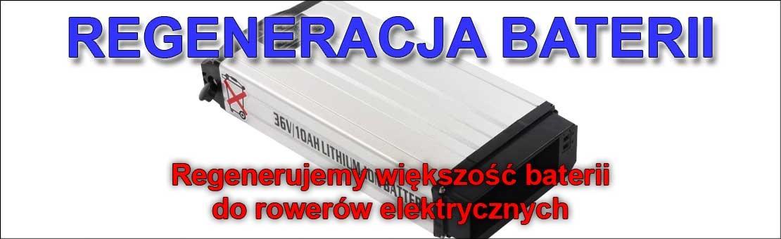Regeneracja baterii rowerowych - Toruń