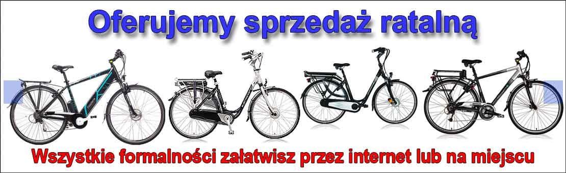 Sprzedaż ratalna - rowery elektryczne