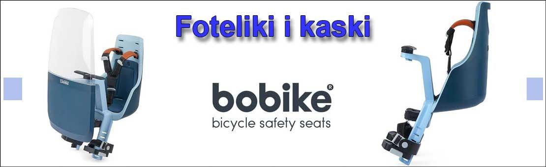 Bobike - kaski i foteliki rowerowe Toruń