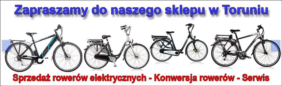 Rowery elektryczne w Toruniu